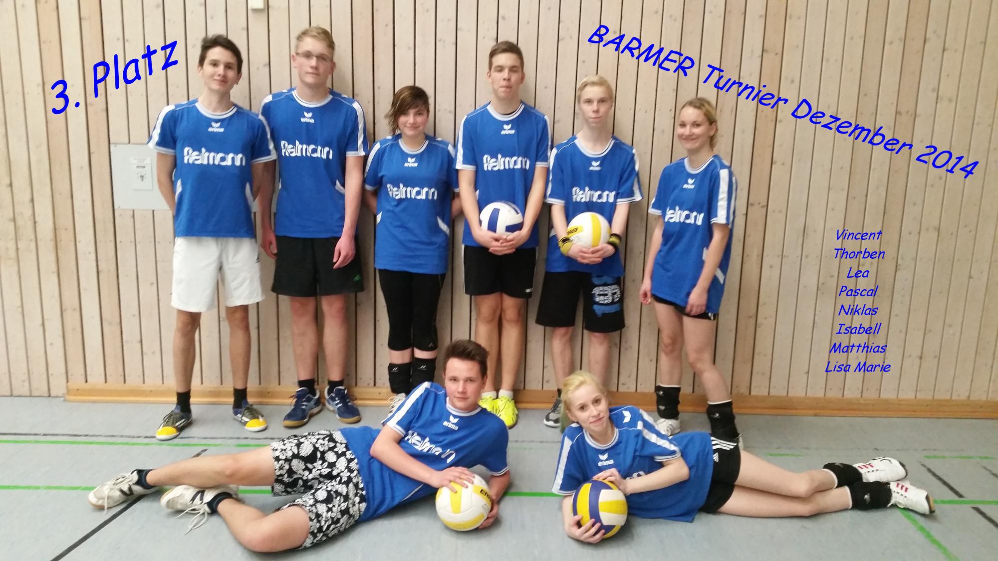 Volleyball Barmer 2014